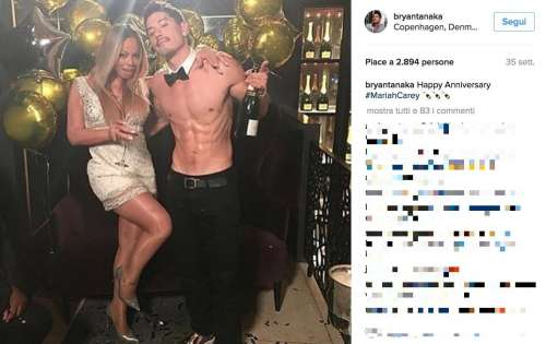 Mariah Carey, tutta Curvy e col Toy Boy!